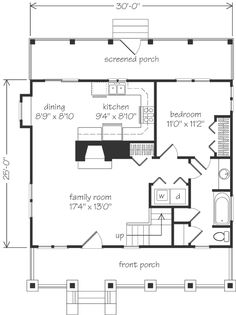 Find blueprints for your dream home. Choose from a variety of house plans, including country house plans, country cottages, luxury home plans and Saint Lawrence River, Small Floor Plans, Southern Living House Plans, Mount Carmel, Good House, Best House Plans, Home Goods, Sweet Home, House Design