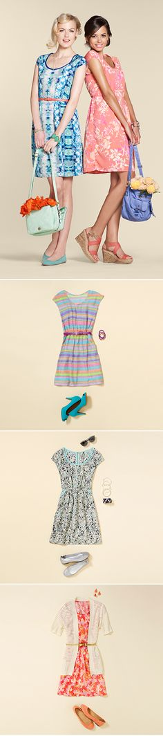 Cant wait till Target opens !!!  Dress and impress this #Easter: we're loving the pattern twist to pastel frocks