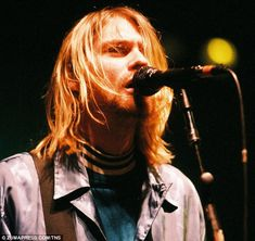 Cobain singing with Nirvana. The band went on to sell 75million records worldwide