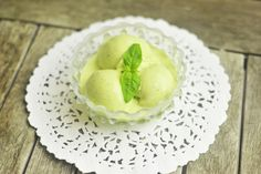 lemon basil ice cream -- I have a what seems to be an unlimited supply of both lemons and basil
