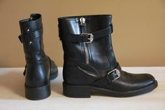 Available @ TrendTrunk.com Gucci Boots. By Gucci. Only $358.00! Gucci Boots, Riding Boots, Trunks, Money, Shoes, Fashion, Moda, Silver, Shoes Outlet