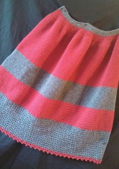 Wool Crochet Petticoat READY TO SHIP Waist by handstitchesintime