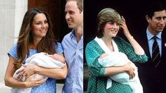 Kate Middleton Channels Princess Diana With Polka-Dot Dress to Present Newborn Son (ABC News)