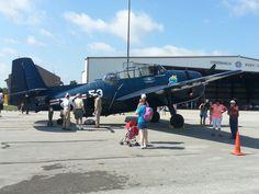 Historic Plane. Columbus Aviation Day - Columbus, Indiana.  (June 2015)