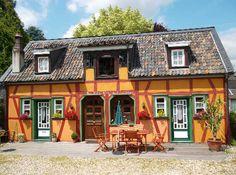 ★★ Ferienobjekt der Woche ★★  Fachwerkhaus 'An der Wasserburg' in Nordrhein-Westfalen, Windecker Ländchen, Bergisches Land