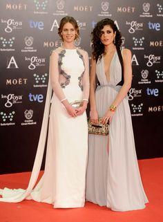 Premios Goya 2014 - Los vestidos de los premios Goya - El azul ha sido el color amule...