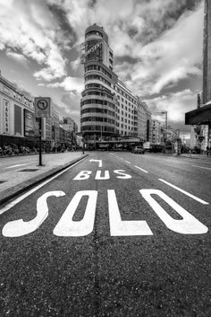 Solo Bus - Only Bus by Javier de la Torre