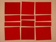 Hélio Oiticica -  Metaesquema II, 1958, Guache sobre cartão 55 x 63,9 cm