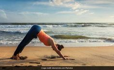 Yoga for acid reflux - Adho Mukha Svanasana Stop Acid Reflux, Bow Pose, Warrior Pose, International Yoga Day, Bridge Pose, Major Muscles, Cool Yoga Poses, Yoga Benefits, Health Benefits