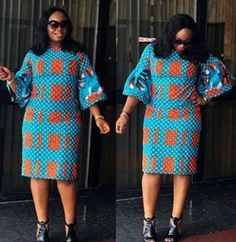 How To Dress to Impress With Ankara Head Wraps And Casuals - Sisi Couture African Fashion Ankara, Latest African Fashion Dresses, African Print Fashion, Short African Dresses, African Print Dresses, Nigerian Outfits, Nigerian Fashion, Shweshwe Dresses, Ankara Dress Styles