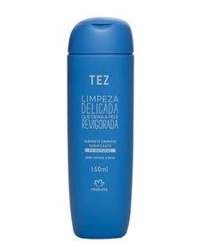 Possui uma textura cremosa que deixa a pele macia, sem ressecá-la. Mantém o pH natural da pele.