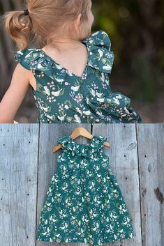 This little toddler dress is precious for Spring! I love the birds on it and the emerald green color! So sweet! vintage style dress, organic baby toddler dress, Baby gift, Bohemian baby dress, Boho baby clothes, emerald dress, bird baby dress, toddler #affiliate #vintagebabyclothes