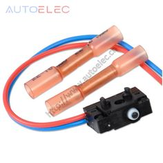 1Pcs 3BD998785 Left Wiring Harness with Plastic pipe connector Micro Switch for VW Passat B5 Bora Polo Golf MK4 Audi Bora Toura