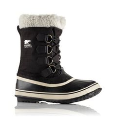 The Absolute Best Shoes for the Snow via @WhoWhatWear  Sorel Women's Winter Carnival Boots ( $130 ) ($98)