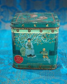 Louise Hill Design Vintage Tins, Limited Edition Prints, Artwork Prints, Over The Years, Vibrant Colors, Decorative Boxes, Asian, Tea, Illustration