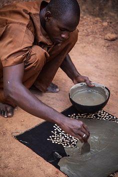 Interior design ideas: African graphic textiles – in pictures