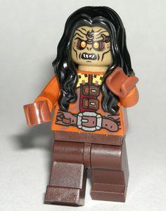 LEGO Undead ZOMBIE MINIFIGURE Long Black Hair/Dark Brown Legs #LEGO Lego Custom Minifigures, Lego Minifigs, Long Black Hair, Dark Hair, Lego For Sale, Lego People, Prince Of Persia, Lego Parts, Cool Lego