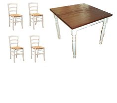 Tavoli in legno shabby on Pinterest  Distressed Tables, Shabby and ...