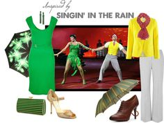 Inspired by Singin' in the Rain, created by alyssa-leanne on Polyvore