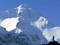 Mount Everest, Tibet. I have no desire whatsoever to climb Everest. But, it is a beautiful mountain.