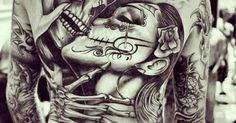 Kiss of death tattoo   Tattoos   Pinterest   Death tattoo Kiss and ...
