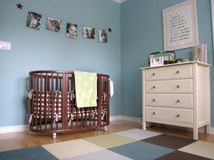 flor tiles in nursery