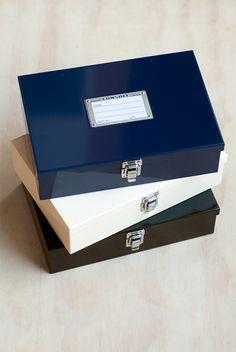 Hightide - 'Penco' Console Box - Large - Navy