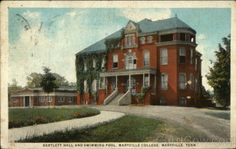 Historic Pictures Maryville TN | ... Bartlett Hall and Swimming Pool, Maryville College Maryville Tennessee