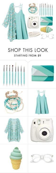 """""""Blue Dream"""" by isabellablue24 ❤ liked on Polyvore featuring Mundi, Red Camel, RVCA, Fujifilm, Antonio Melani, white, Blue and free"""