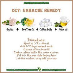 natural earache remedy