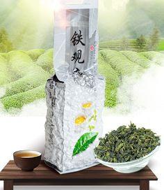#delicious #detox #health Chinese 250g Tikuanyin organic Green Tie Guan Yin tea The health care Oolong vacuum bag weight loss Tieguanyin the tea+gift