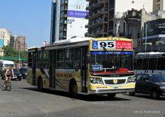 Linea 95 Interno 55 . La Favorita GR I Mercedes Benz OH 1618 L-SB
