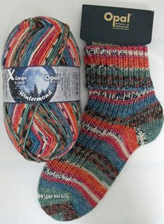 Yarn 8ply double knit wintermoon chunky warming sock- and jumperyarn with free pattern for socks perfect for jumpers 150g 320m Opal #8921 by PurpleValleyYarn on Etsy