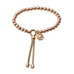 #style Believe Michael Kors Bead Stretch Rose Golden Bracelets, And It Must Give You The Best Quality And Service!