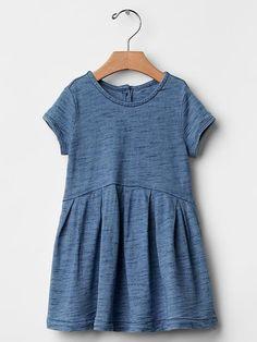Indigo jersey dress Product Image