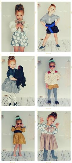 fleur + dot  aw 2012 collection  todler clothing