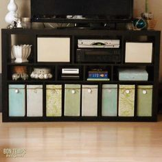 storage boxes from cardboard boxes!