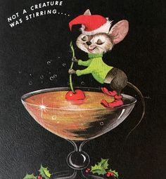 Loves me some vintage Christmas cards and no one has a better selection than @missangedc, by God! #vintagechristmascards