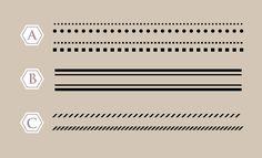 Illustratorでシンプルな飾り罫の作り方(点線・二重線・斜め線) | 鈴木メモ