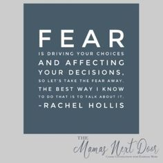 Fear is driving your choices and affecting your decisions. - Rachel Hollis, Girl, Wash Your Face Fear Quotes, Quotable Quotes, Quotes To Live By, Greatest Quotes, Rachel Hollis, Miracle Morning, Healing Words, Words Worth, Positive Messages