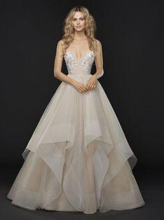 Wedding Dress Inspiration - Hayley Paige from JLM Couture #weddings #weddinginspiration #weddingideas #weddingdresses