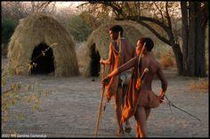 Africa   Bushmen.  Kalahari desert, Botswana   ©Caroline Castendijk