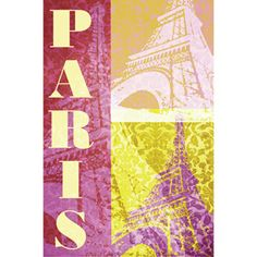 "Paris 22.375"" x 34"" Poster Print"