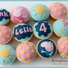 Bestofpicture.com - Images: Peppa The Pig Cupcakes