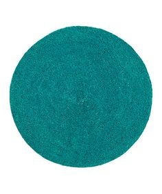 Turquoise Beaded Round Place Mat #zulily #zulilyfinds