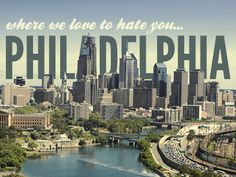 You can take the girl out of Philly but not Philly out of the girl!!