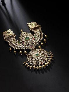 Design Alert - Polki Pendant - South India Jewels