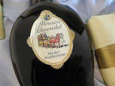 MOUSON Lavendel - Geschenkepackung mit Postkutsche - 1940er Jahre Rarität - OVP.