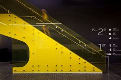 Videotron flagship store by Sid Lee Architecture & RCAA, Montreal store design Zoo Signage, Store Signage, Wayfinding Signage, Signage Design, Facade Design, Architecture Design, Environmental Graphics, Environmental Design, Modern Stairs