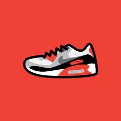 low priced 80049 bc00e Air Max 90, Nike Air Max, Air Jordanit, Nike Kengät, Graffiti,